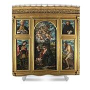 High Altarpiece S Alessandro Brescia Shower Curtain