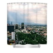 High Altitude Mexico Shower Curtain