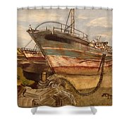 High And Dry Shower Curtain