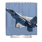 High Angle Of Attack Shower Curtain