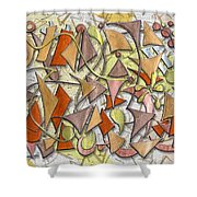 High Autumn Shower Curtain