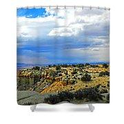 High Desert Ridge Shower Curtain