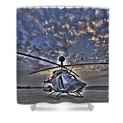 High Dynamic Range Image Shower Curtain