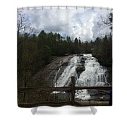 High Falls Dupont State Forest Shower Curtain
