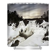 High Falls Long Expo 2017-03 Shower Curtain