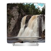 High Falls Of Tettegouche State Park 1 Shower Curtain