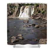 High Falls Of Tettegouche State Park 3 Shower Curtain
