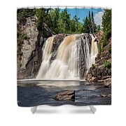 High Falls Of Tettegouche State Park2 Shower Curtain