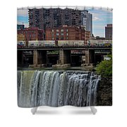 High Falls, Rochester  Shower Curtain