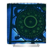 High Flux Isotope Reactor Pool Shower Curtain