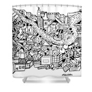 High Hopes Shower Curtain