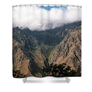 High In The Andes Shower Curtain