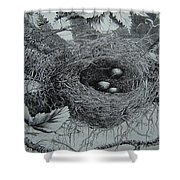 High In The Trees Shower Curtain
