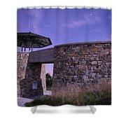 High Knob Fire Tower Shower Curtain