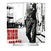 High Noon, Gary Cooper Shower Curtain