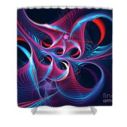 High On Emotion Shower Curtain