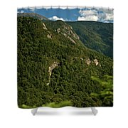 High On The White Mountains Shower Curtain