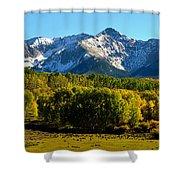 High Peaks Of The San Juan Mountains Shower Curtain