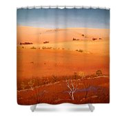 High Plains Hills Shower Curtain
