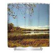 High Point Autumn Scenic Shower Curtain