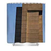 High Rise Shower Curtain