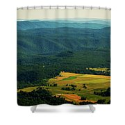 High Rocks Overlook  Shower Curtain
