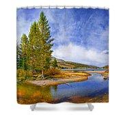 High Sierra Heaven Shower Curtain