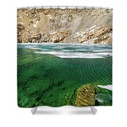 High Sierra Tarn Shower Curtain