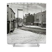 High Street, Lye - 1960's    Ref-60 Shower Curtain