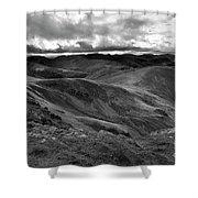 High Street Path, Lake District National Park, Cumbria Shower Curtain