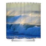 High Tide On The Atlantic Ocean Shower Curtain