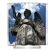 High To Heaven Shower Curtain