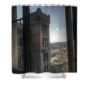 High Window Shower Curtain