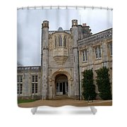 Highcliffe Castle Dorset Shower Curtain