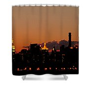 Higher And Higher Shower Curtain