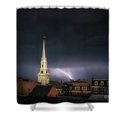 Higher Powers Shower Curtain