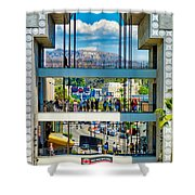 Highland And Hollywood C Shower Curtain