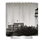 Highland Light At Cape Cod Shower Curtain
