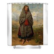 Highland Mary Shower Curtain