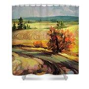 Highland Road Shower Curtain