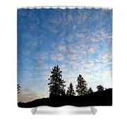Highland Sunrise Shower Curtain