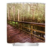 Highlands Hammock Shower Curtain