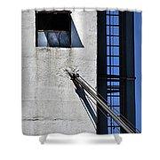 Highrise Fire Escape Shower Curtain