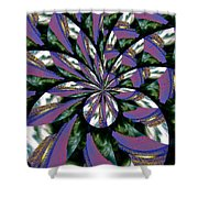 Highrise Kaleidoscope Shower Curtain