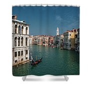 Hight Tide In Venice Shower Curtain