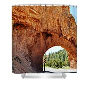 Highway 12 Dixie Tunnel Utah Shower Curtain
