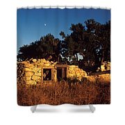 Highway 30 Homestead Shower Curtain