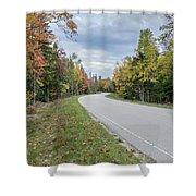 Highway 58 Shower Curtain