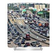 Highway 59 Shower Curtain
