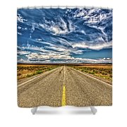 Highway 64 To Taos Shower Curtain